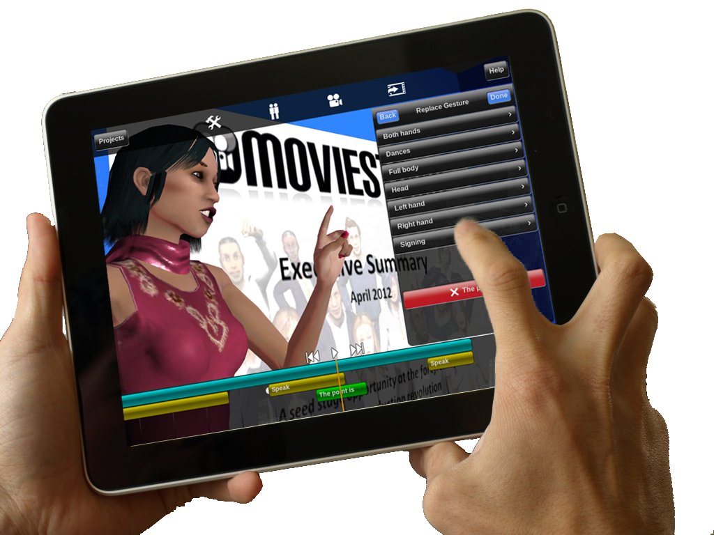 Moviestorm iPad app